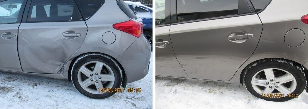 Toyota-kere-ja-värvitööd